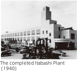 The completed Itabashi Plant(1940)